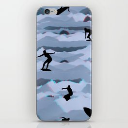 Surf + Turf iPhone Skin