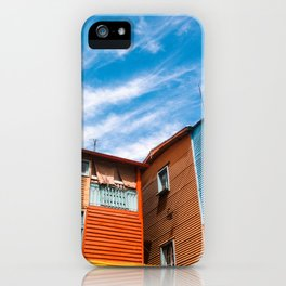 Colors at Caminito iPhone Case