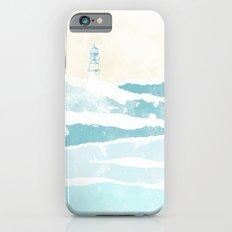 Sea waves iPhone 6s Slim Case
