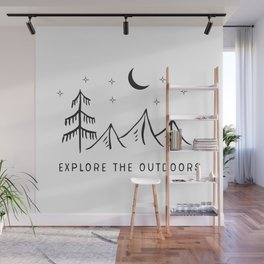 Explore The Outdooors Wall Mural