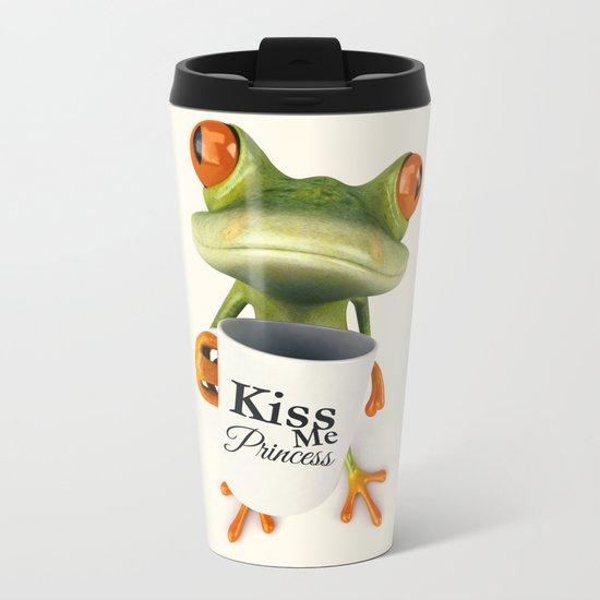 KISS ME Metal Travel Mug