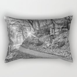 The Old Railway Route Rectangular Pillow