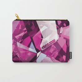 Pink Quartz Royal Stain Carry-All Pouch