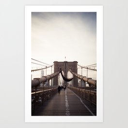 Afternoon in Brooklyn Art Print
