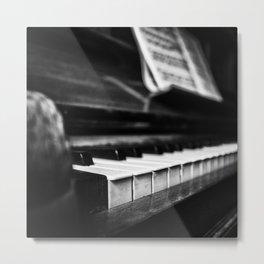 Piano Metal Print