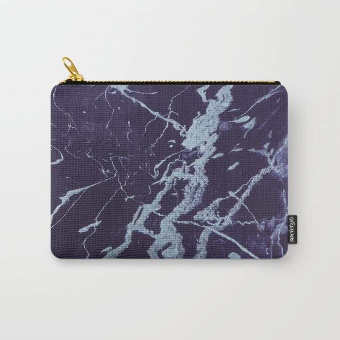 Rivulets - An Abstract Carry-All Pouch