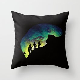 Unknown Lifeforms Throw Pillow