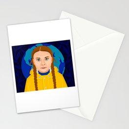 Greta Thunberg Stationery Cards