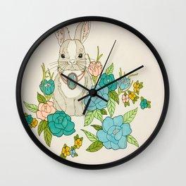 Hopping Around Wall Clock