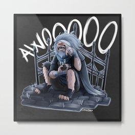 Awooooo Metal Print
