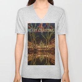 Merry Christmas, Boston Unisex V-Neck