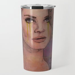 Lana - Deadly Nightshade Crying Tears Of Gold Travel Mug