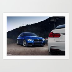 BMW 3-Series Art Print
