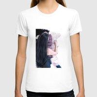 boyfriend T-shirts featuring Drawing boyfriend by Rebeca Zum