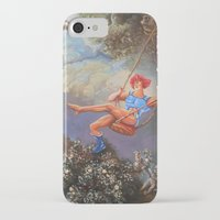 thundercats iPhone & iPod Cases featuring Thunder Swing by Hillary White