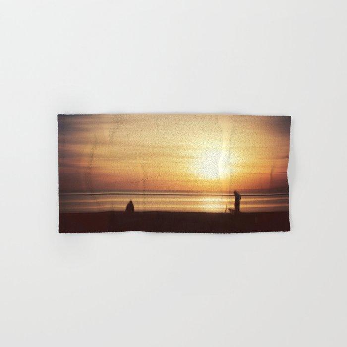 suMMer mOOd - beach sunset Hand & Bath Towel