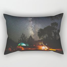 Camping at Deer Creek - Escalante, Utah Rectangular Pillow