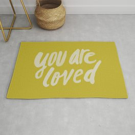You Are Loved x Mustard Rug