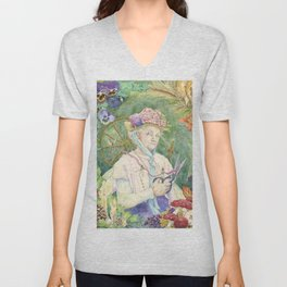 The Faery Godmother Unisex V-Neck