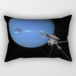 Storms on Planet Neptune Rectangular Pillow