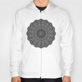 Zen Black and white mandala Sophisticated ornament Hoody