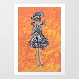Collage Collection - Jesminder Art Print