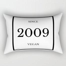 Since ..Vegan Rectangular Pillow