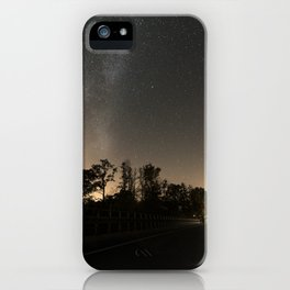 Milky high way iPhone Case