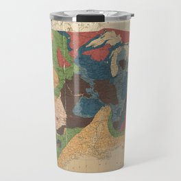Vintage United States Geological Map (1872) Travel Mug