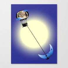 Catch the Moon Canvas Print