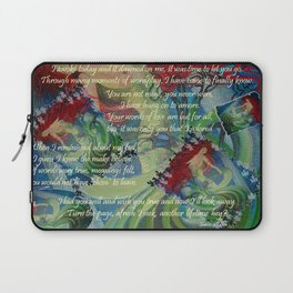 And Now I'll Look Away Laptop Sleeve