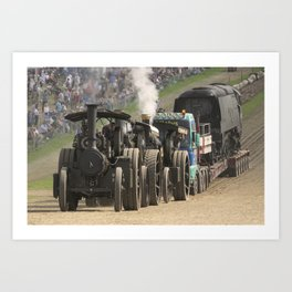 Traction Trio Art Print