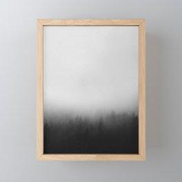 Misty Forest I Framed Mini Art Print