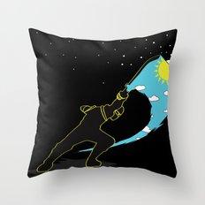Ninja Slice Throw Pillow