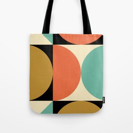 Mid Century Modern Geometric Abstract 235 Tote Bag