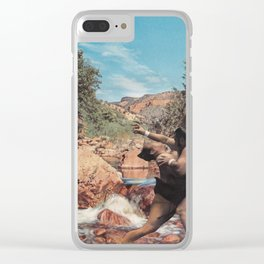 Natural Splendor Clear iPhone Case