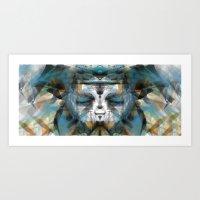 Elemental Spirit Of Forest Art Print