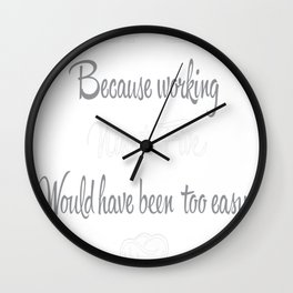 Chef Life Wall Clock