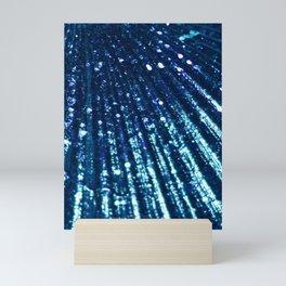 Triton´s Secrets - Shimmering Blue Mini Art Print