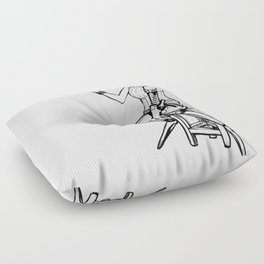 Cyber peace Floor Pillow