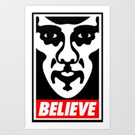 Believe - Sherlock Art Print