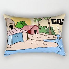 India - Goa  Rectangular Pillow