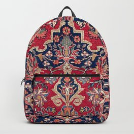 Bijar Kurdish Northwest Persian Rug Print Backpack