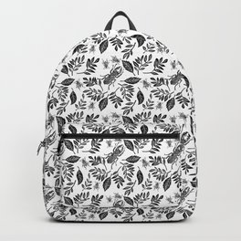 beetles and leaves Backpack