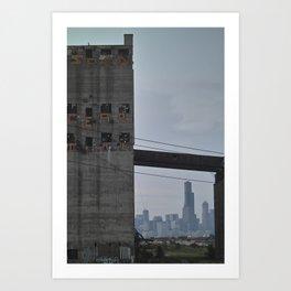 Progress and Decay Art Print