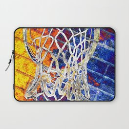 Colorful Basketball Art Laptop Sleeve
