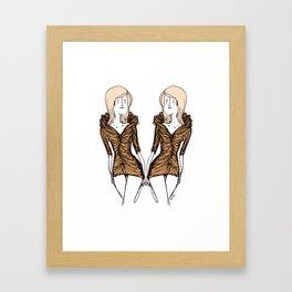 La Robe. Framed Art Print