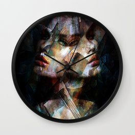 A Cubism Piece Wall Clock