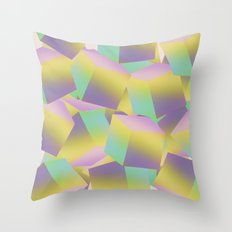 Fade Cubes B2 Throw Pillow