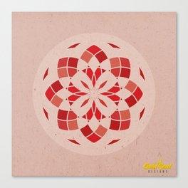 Root Chakra Mandala Canvas Print
